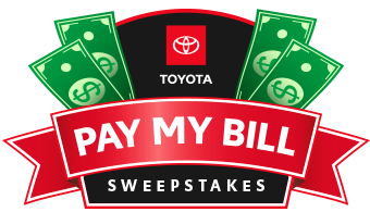 Toyota Bill Pay >> Toyota Pay My Bill Sweepstakes Entry Toyota Service Center